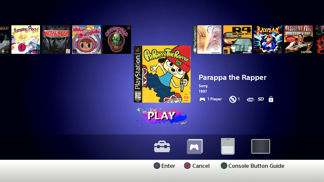 playstation classic can you download games